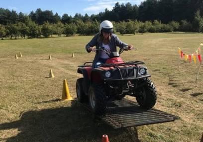 Junior Quad Biking Stirlingshire 30mins for aged 10-15 yrs