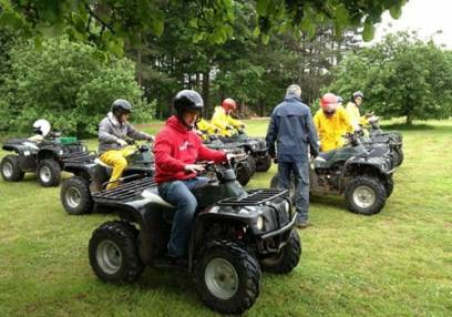 90 Minute Quad Bike Safari  - West Malling, Kent Suitable for 11 years+