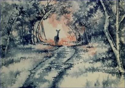 Watercolour Art Classes  - in Nottingham Forest for All Levels Image
