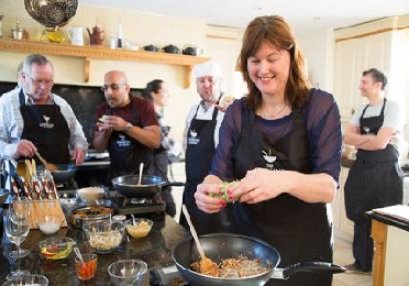 Thai Cookery Class Cumbria Suitable for All Levels and 16 years+