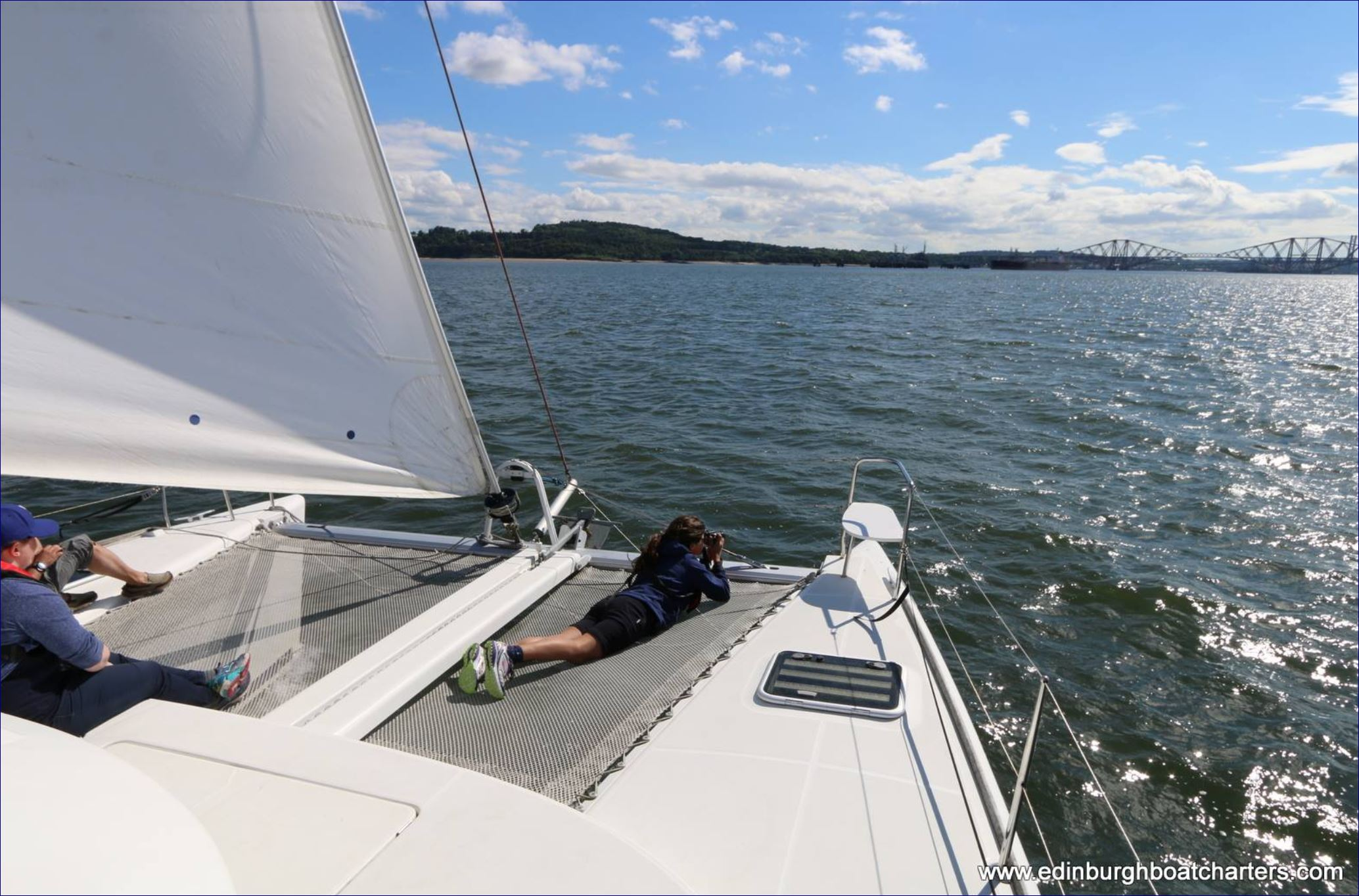 Firth of Forth Luxury Sailing Taster for Two Gallery Image