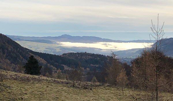 Loch Tummel romantic Places to propose scotland