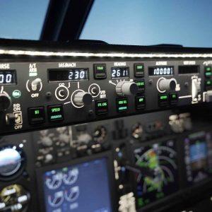 Flight Simulation control panel