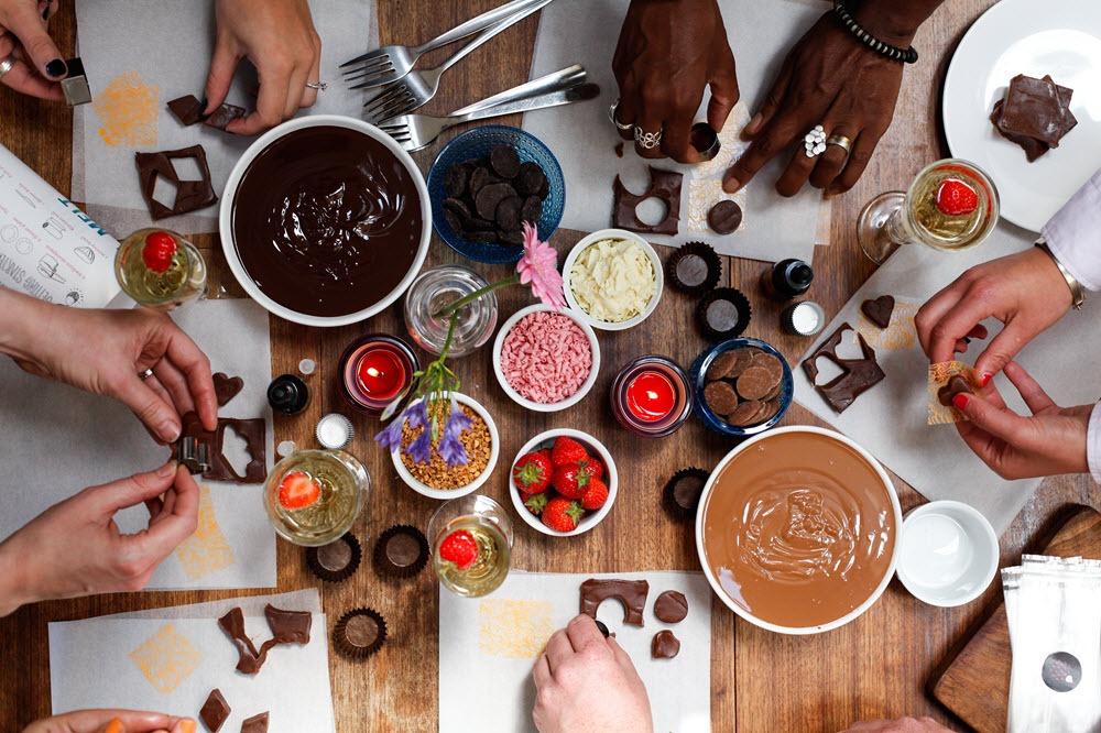 Chocolate & Cocktail Making in London Gallery Image