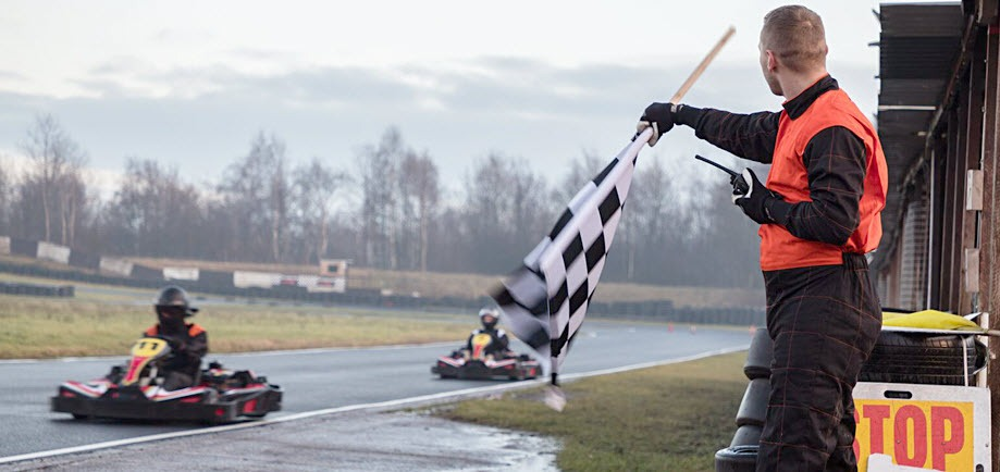 Adult & Teenage Karting  (Age 16+) for Two Gallery Image