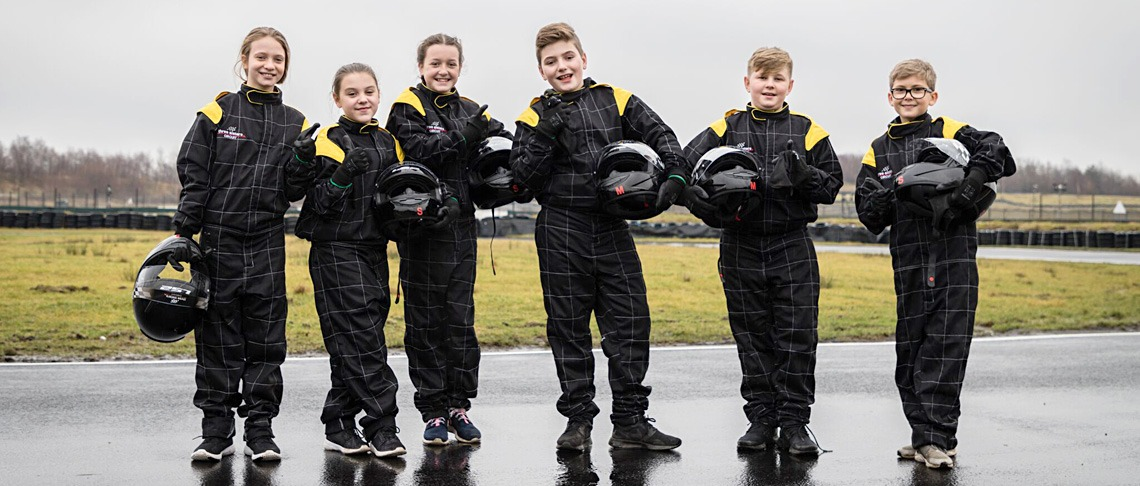 Sisley Kart School Lessons (Age 8-15 yrs) Gallery Image