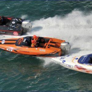 Boats Racing in Southampton
