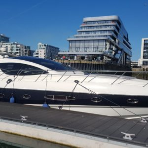 private yacht in Southampton