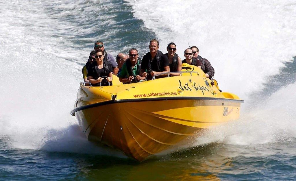 Jet Viper Boat Thrill Ride Gallery Image