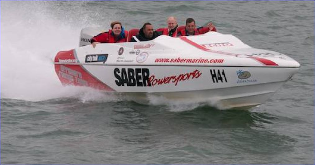 Luxury Power Boat Day Out Saber Sports Gallery Image