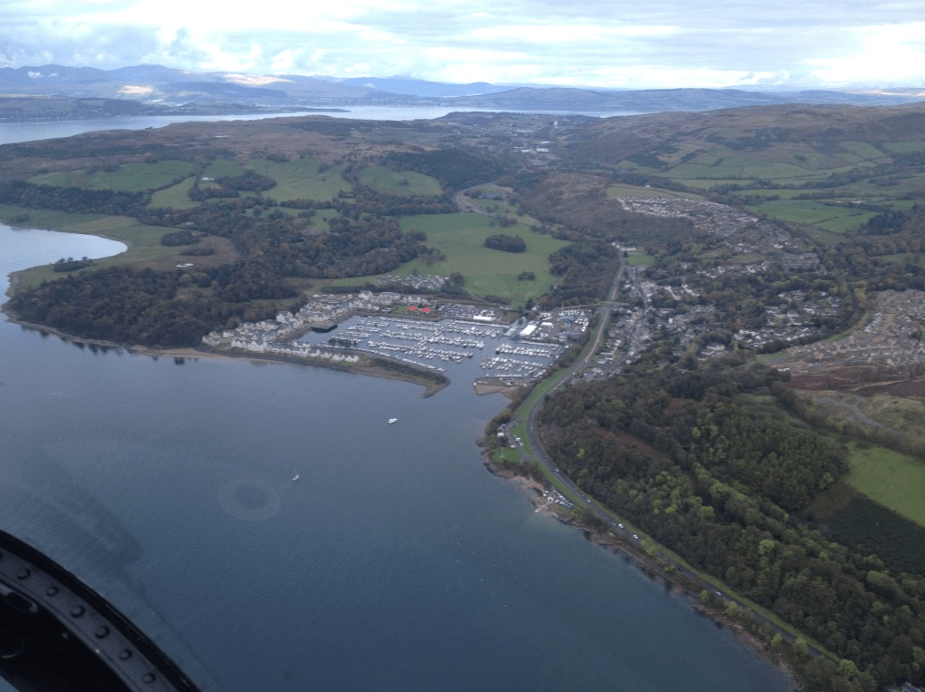 Edinburgh Helicopter Tour Gallery Image