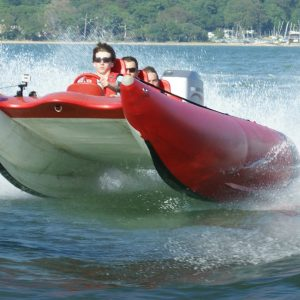 Speed boat racing experience in Southampton