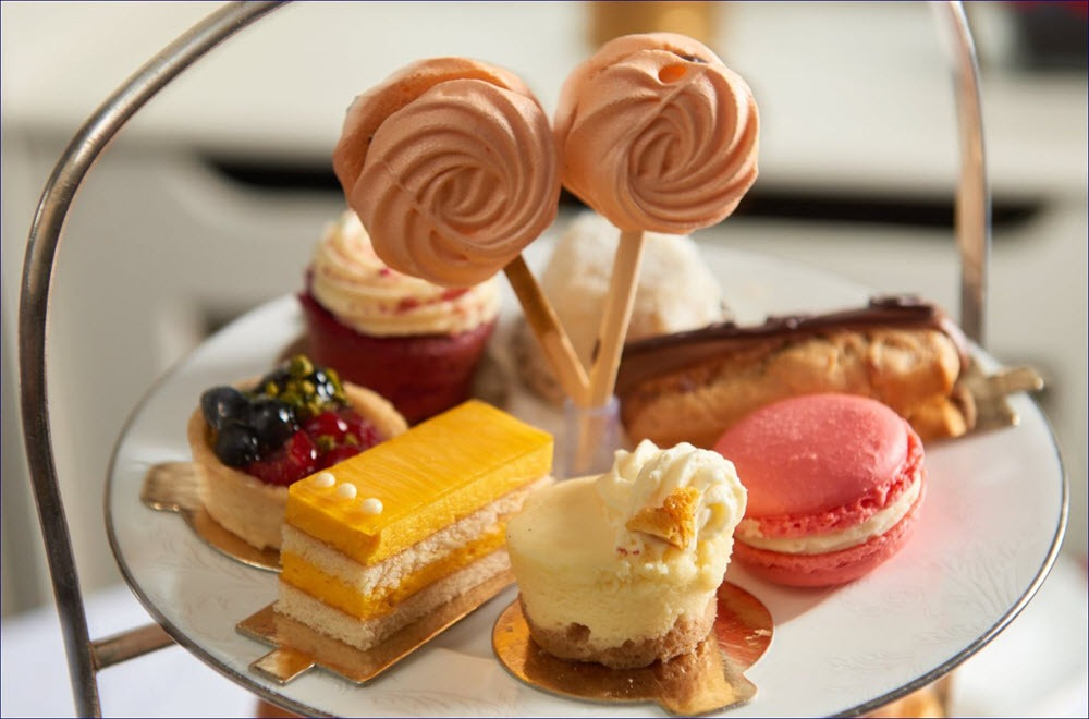The montague on the gardens afternoon tea