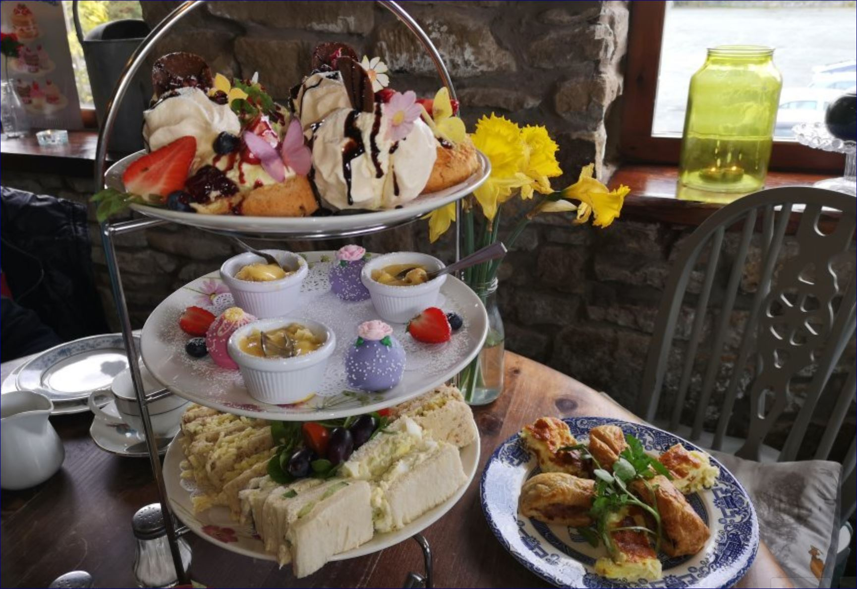 potting shed afternoon tea lancashire