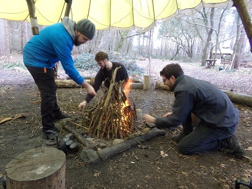 Bushcraft Fire Lighting Experience Gallery Image