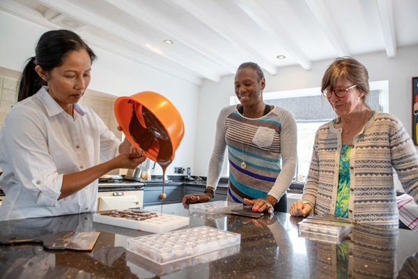Luxury Chocolate Making Workshop for 2 Gallery Image