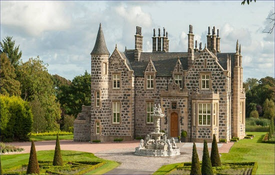 afternoon tea Macleod House & Lodge Trump Scotland