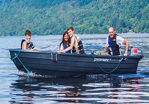 Fishing Boat Hire on Loch Lomond Gallery Image