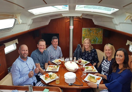 Sail 'N' Dine Lunch Gallery Image