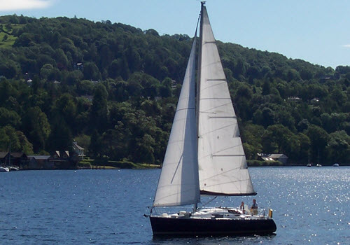 sail dine lunch lake windermere