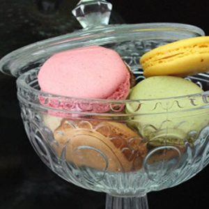 French Macarons in a jar
