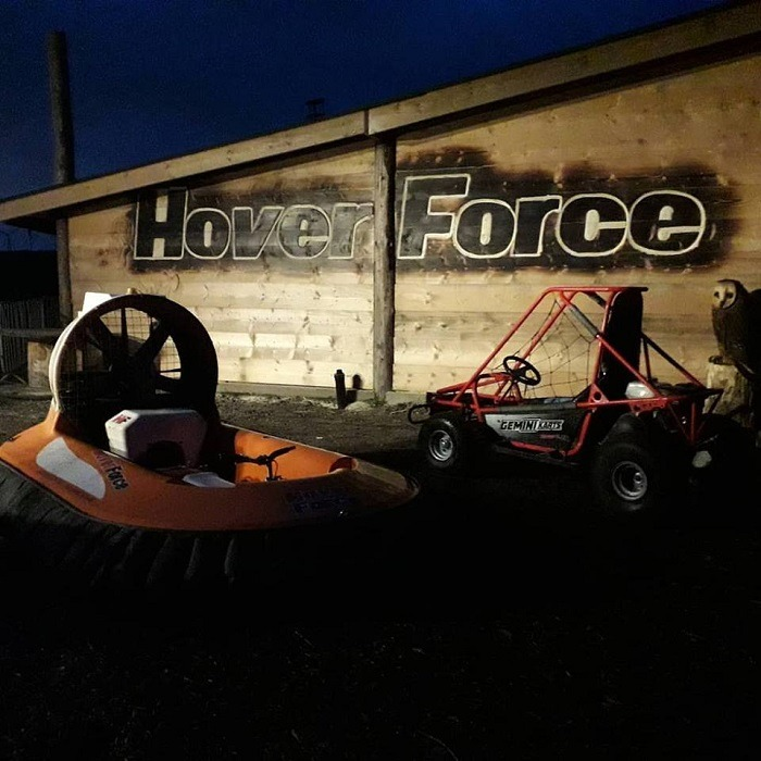 Bronze Hovercraft Experience in Cheshire Gallery Image