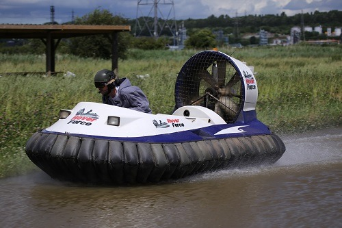 Silver Hovercraft Racing Trials in Cheshire Gallery Image