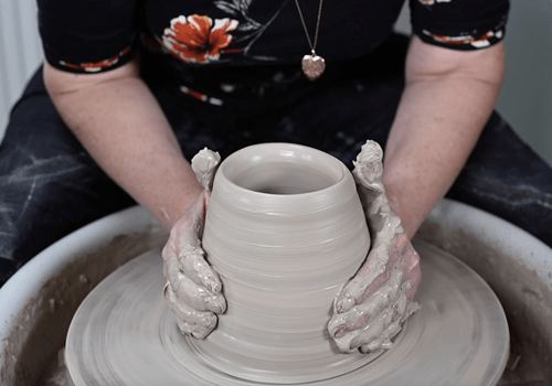 Pottery classes wheel experience pot making west yorkshire