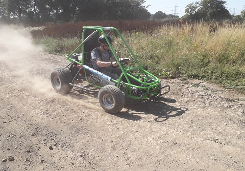 Single Seat off Road Dirt Kart Trials Gallery Image