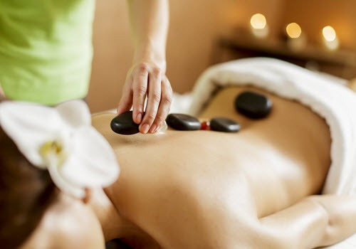 hot stones massage glasgow