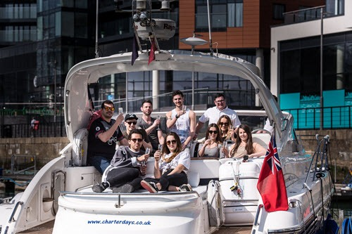 luxury powerboat experience southampton