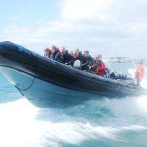 rib adventure experience Southampton solent