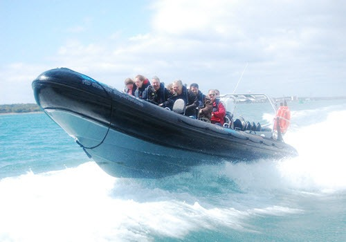 rib adventure experience southampton solent