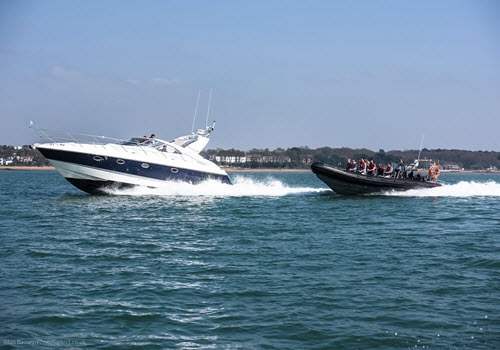 rib power boat experience day out Southampton