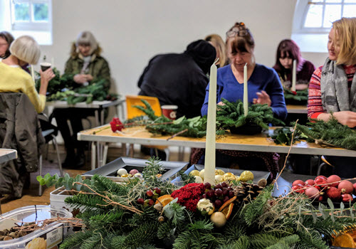 Winter Flower Arranging Classes Gallery Image