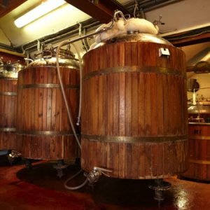 vats in a winery