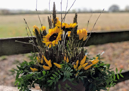 Autumn Flower Arranging Classes Gallery Image