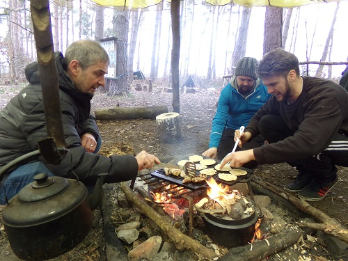 Bushcraft Team Building Experience Gallery Image