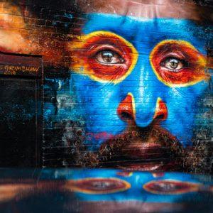 street art face design