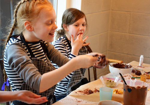Childrens Chocolate Making Party Gallery Image