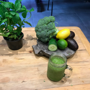 vegetables on a table