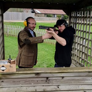 made learning to clay pigeon shoot