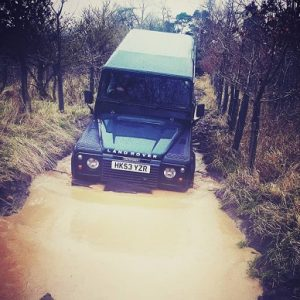 Land Rover Off Road Driving in East Lothian