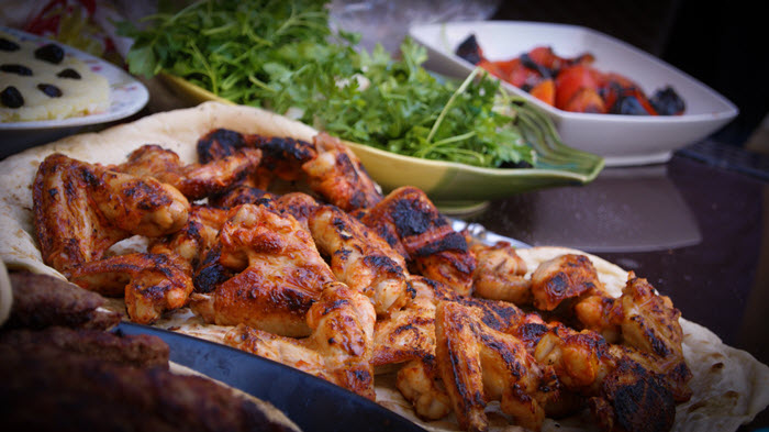 Chicken Grill Vegetable for BBQ Recipe Marinade
