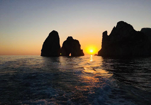 Capri Sunrise Private Boat Trip Gallery Image