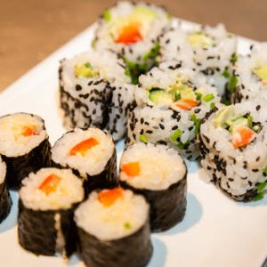 sushi making class with an expert images