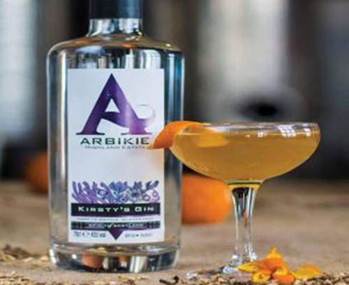 Arbikie-gin cocktail