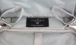 logo and greenfield logo and tag