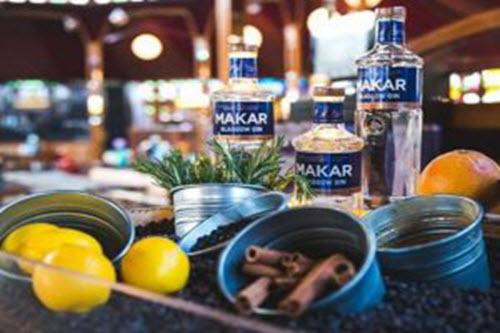 Makar-Gin cocktail