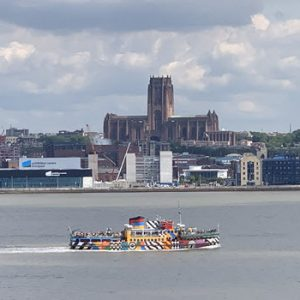 Boat on Mersey River
